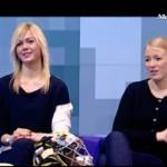 Хоккеистки Зоя Полунина и Анна Прудова