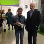 Валентин Гафт с нашим админом Женей