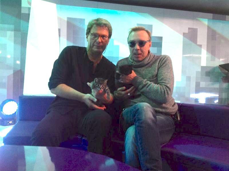 Гарик Сукачев, Евгений Додолев и котята: Пират + Игорьиваныч