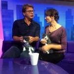 Лика Длугич и коты-близняшки Толя & Коля