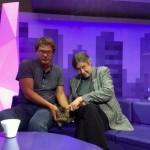 Миша Ефремов & кошка Ань-Мань (он так ее назвал в честь дочки Анны-Марии)