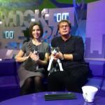 Александра Урсуляк и котэ-близнецы Лева & Шура