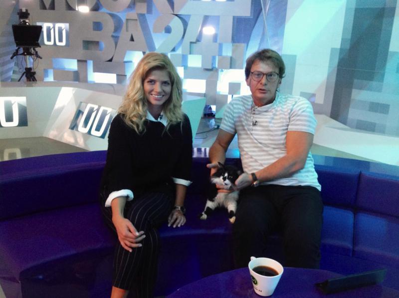 Анастасия Задорожная и кот Тимофей
