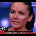 Анастасия Чернобровина телевизор не смотрит