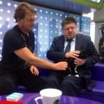 Евгений Брюн и кошка Бабочка
