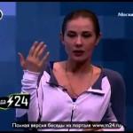 Актрисе проще играть роль на иностранном языке