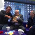 Армен Джигарханян и Юрий Клепиков представляют кота Ваню