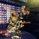 Ксения Новикова и кот Том