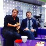 Валерий Федоров (ВЦИОМ) и кошка Доня