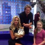 Вика Лопырева назвала кота Васей