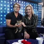 Глеб Матвейчук и кошка Нора