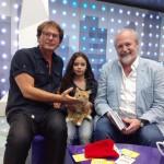 Владимир Хотиненко и кошка Доня