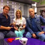Алексей Кортнев и кошка Марта