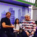 Игорь Бухаров и кошка Красотка