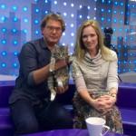 Мария Киселева и кошка Муся