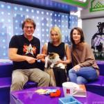 Настя Волочкова и кошка Маркиза на выданье (2015 год)