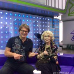 Светлана Немоляева и котик Барсик (2015 год)